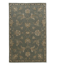 Border Medallion Tufted Rug