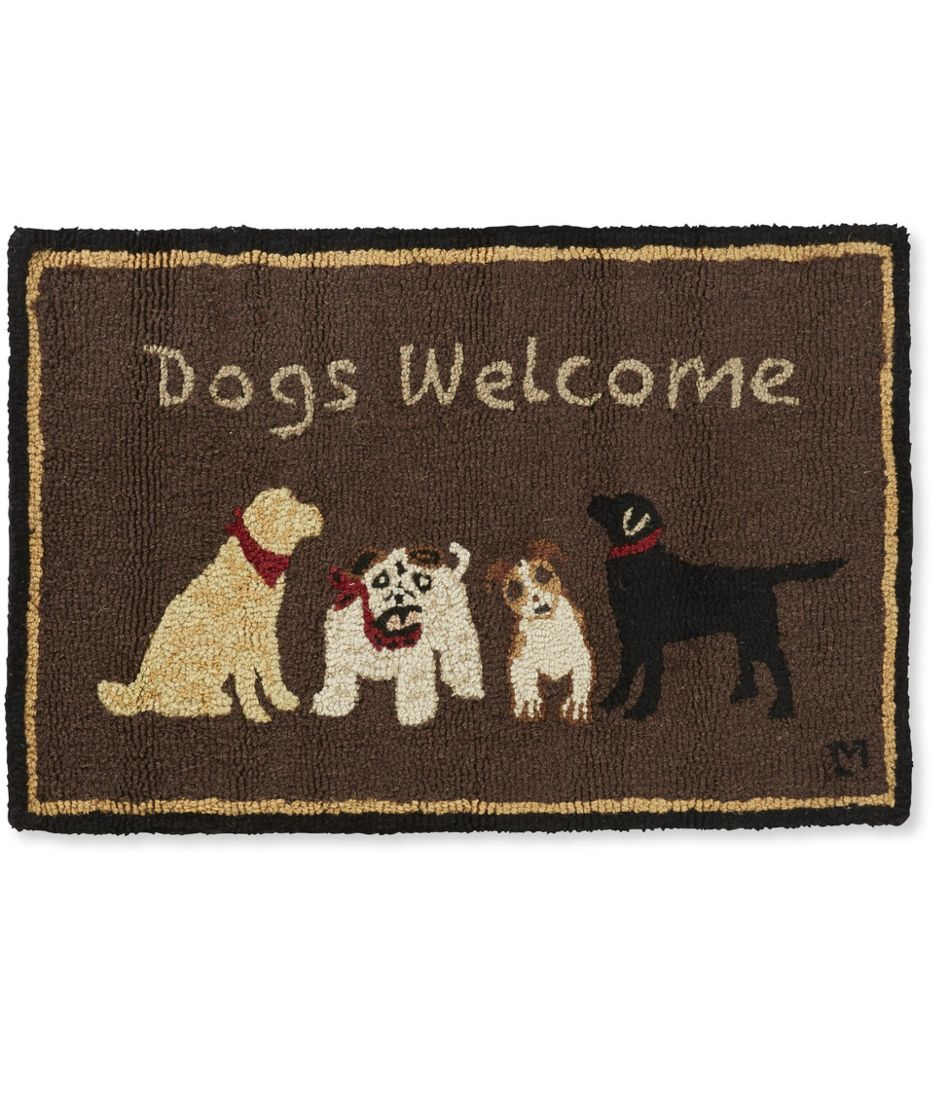 Dog Eating Wool Rug: Dogs Playing Poker Rug