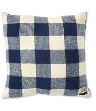 """L.L.Bean Wool Plaid Throw Pillow, 20"""" x 20"""""""