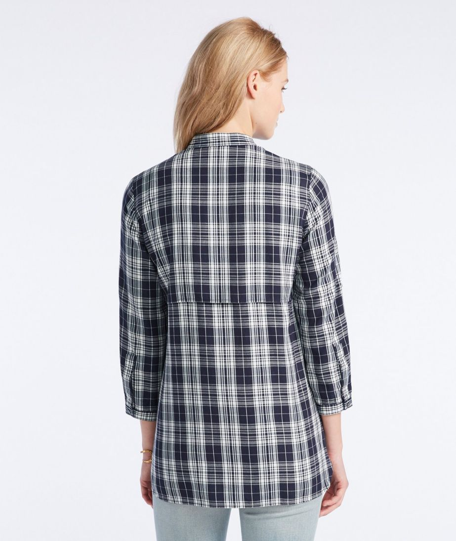 Signature Heritage Utility Tunic Shirt, Plaid