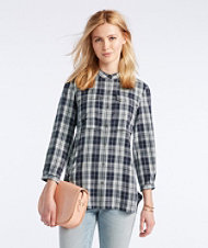 Signature Heritage Utility Tunic Shirt, Plaid