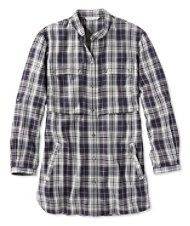 Women's Signature Heritage Utility Tunic Shirt, Plaid