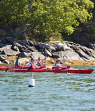 Maine Islands Kayak and Lobster Day Tour