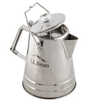 L.L.Bean Stainless-Steel Percolator, 14 Cup