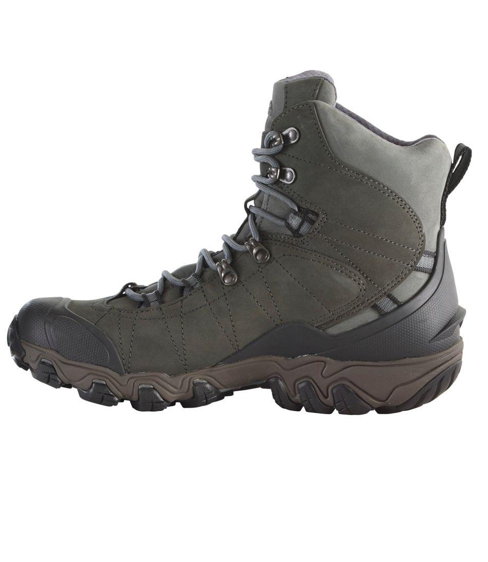 "Men's Oboz Bridger Insulated Hiking Boots, 8"""