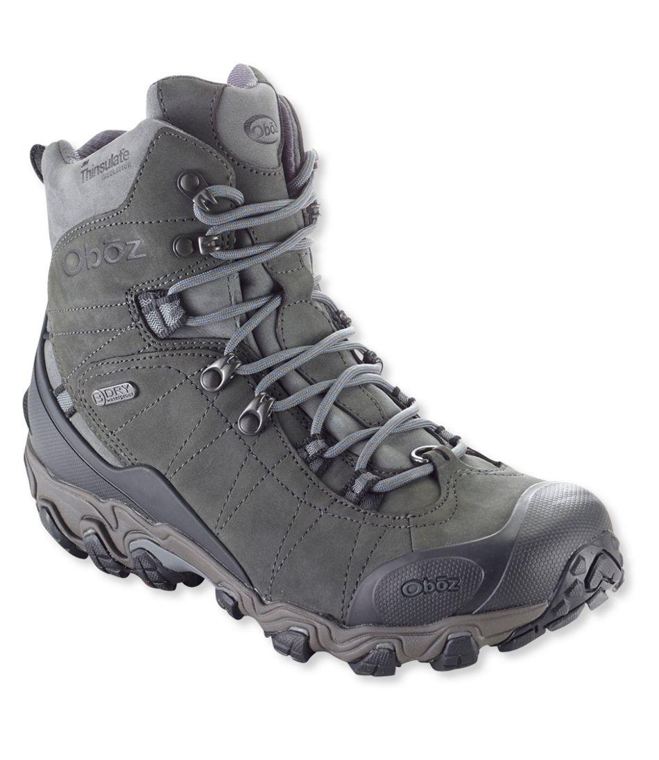 c796b806b12 Men's Oboz Bridger Insulated Hiking Boots, 8