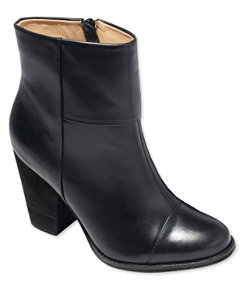 Women's Signature Leather Ankle Boots