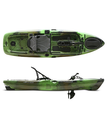 Native slayer propel 10 pedal drive fishing kayak for Fishing kayak with pedals
