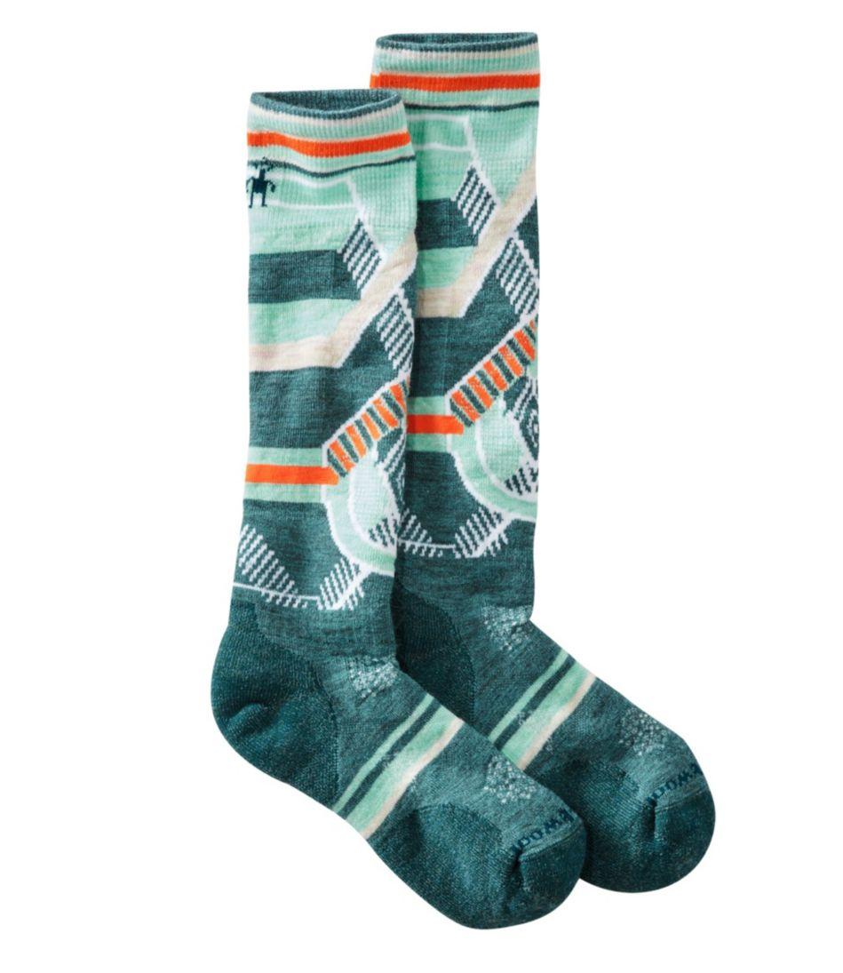SmartWool PhD Ski Socks, Medium Pattern