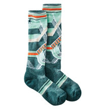 SmartWool PhD Ski Socks, Medium Pattern