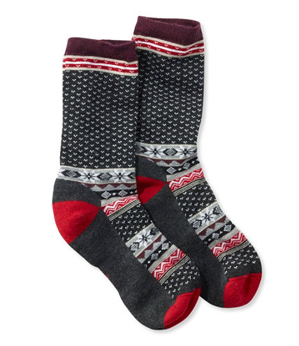 Smartwool cozy cabin crew socks for Warm cabin socks