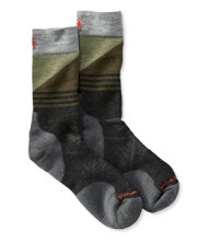 SmartWool PhD Outdoor Socks, Medium Crew Pattern