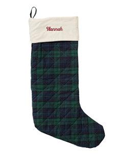 Classic Velvet Christmas Stocking