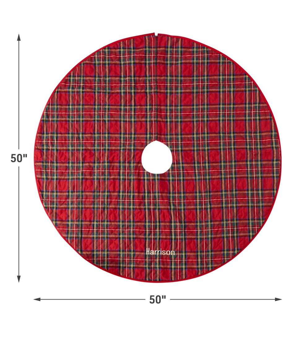 Classic Tree Skirt, Plaid