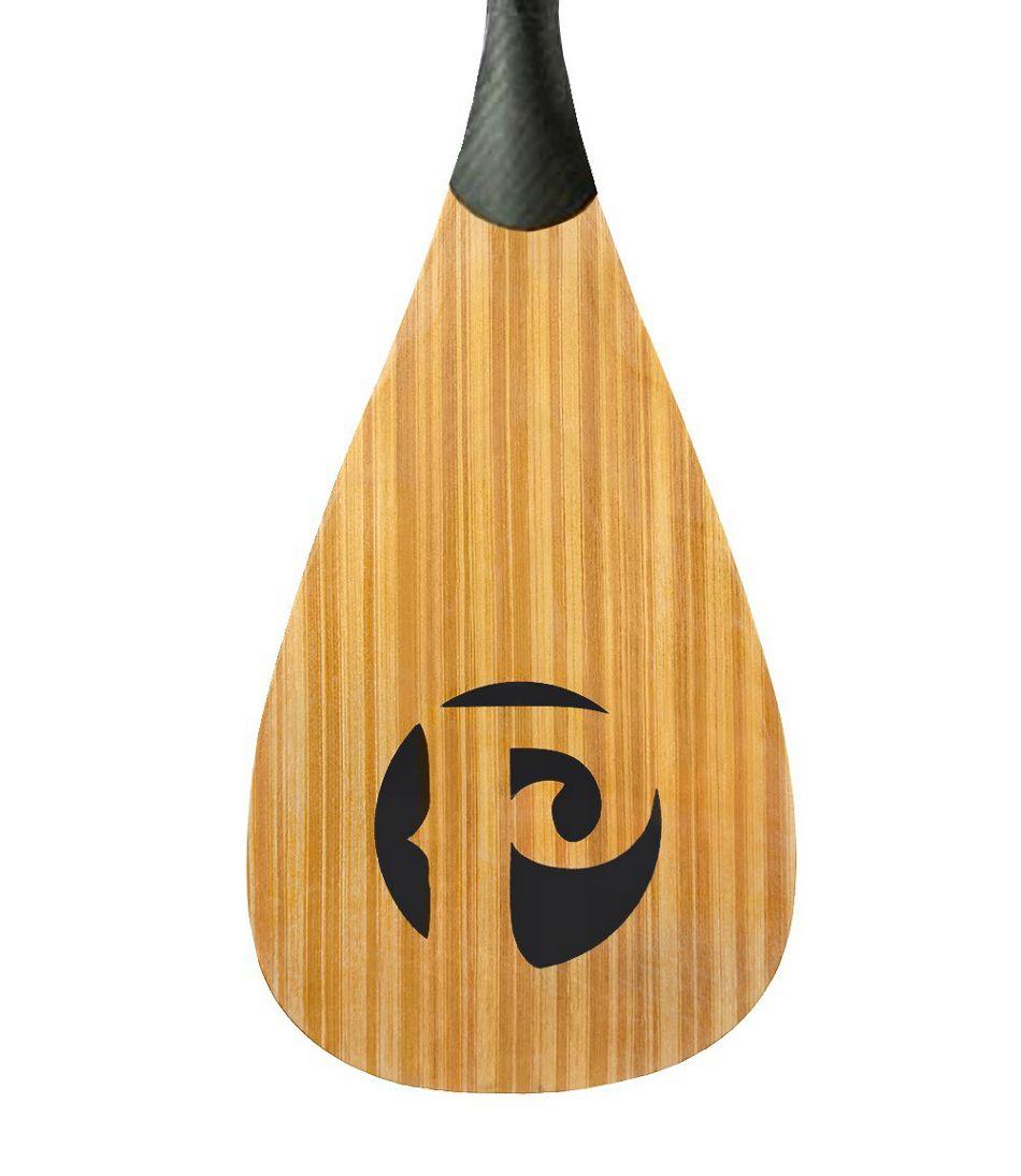 Pau Hana Carbon/Teak Adjustable SUP Paddle