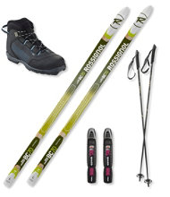 Rossignol BC 70 Ski Set with Rossignol BC X2 Boots