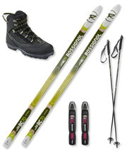 Rossignol BC 70 Ski Set with Rossignol BC X4 Boots