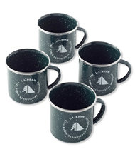 Traverse Camp Enamelware, Cup 4-Pack