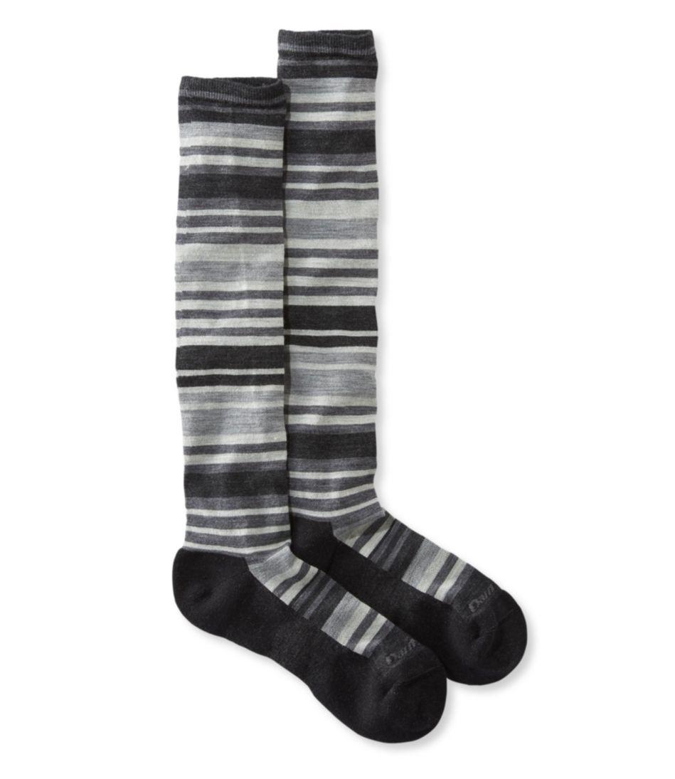 Darn Tough Cushion Socks, Knee-High Light Stripe