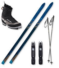 Fischer Outback BC 68 Ski Set with Fischer Offtrack 3 BC Boots