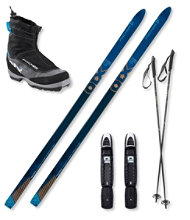 Fischer Outback 68 BC Ski Set with Women's Fischer Offtrack 3 BC My Style Boots