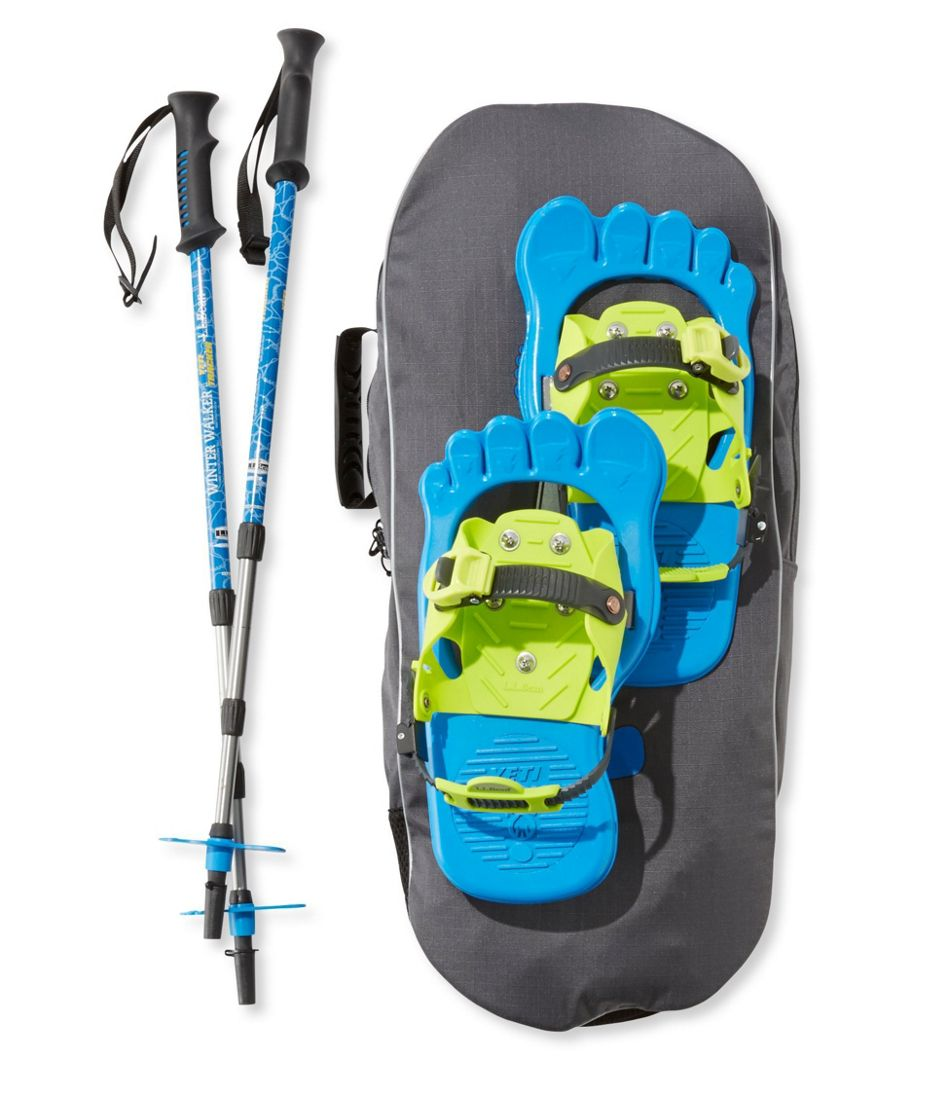 Kids' Yeti Tracker Snowshoe Package