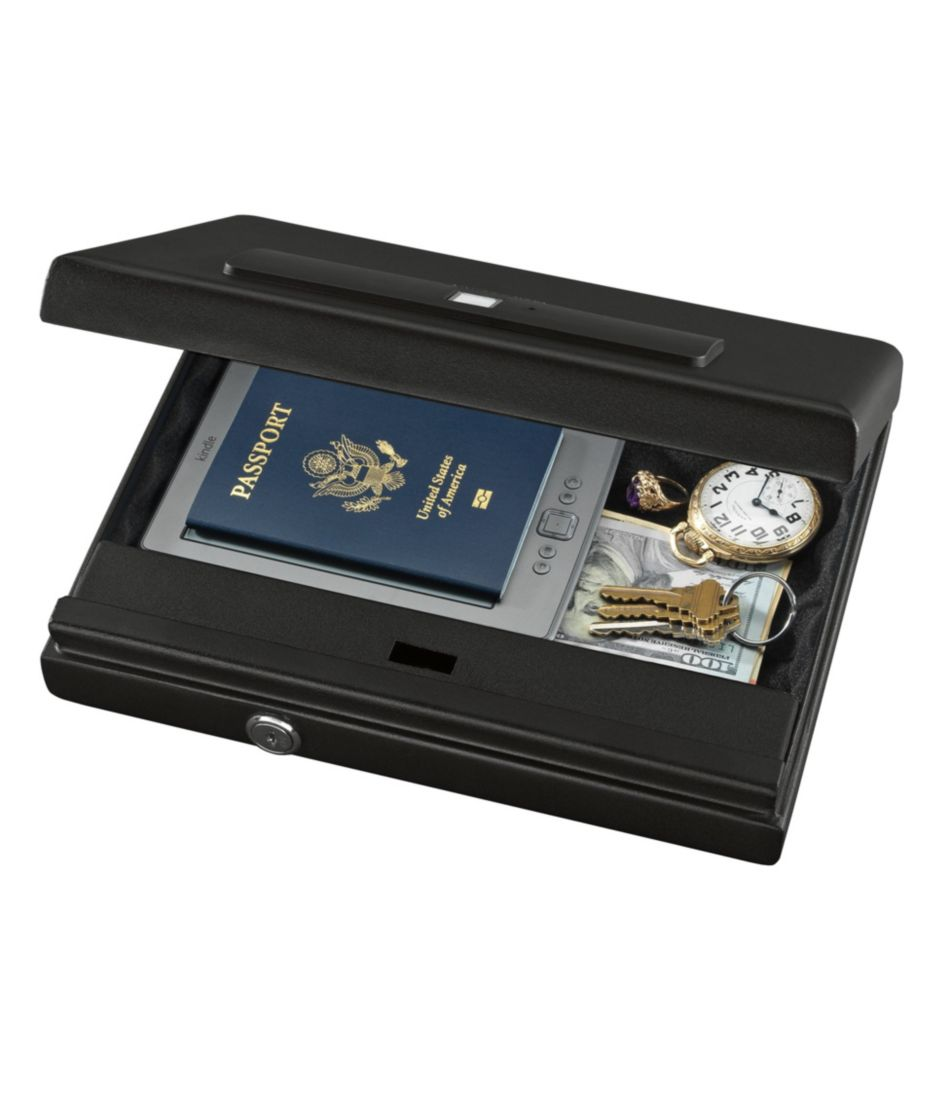 Stack-On Portable Case With Biometric Lock