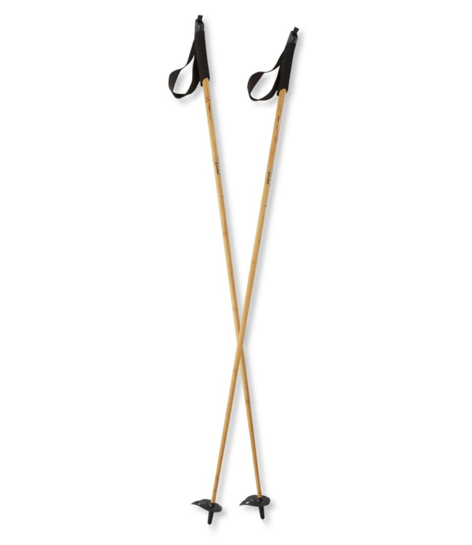 L.L.Bean Heritage Wood/Carbon Cross-Country Ski Poles