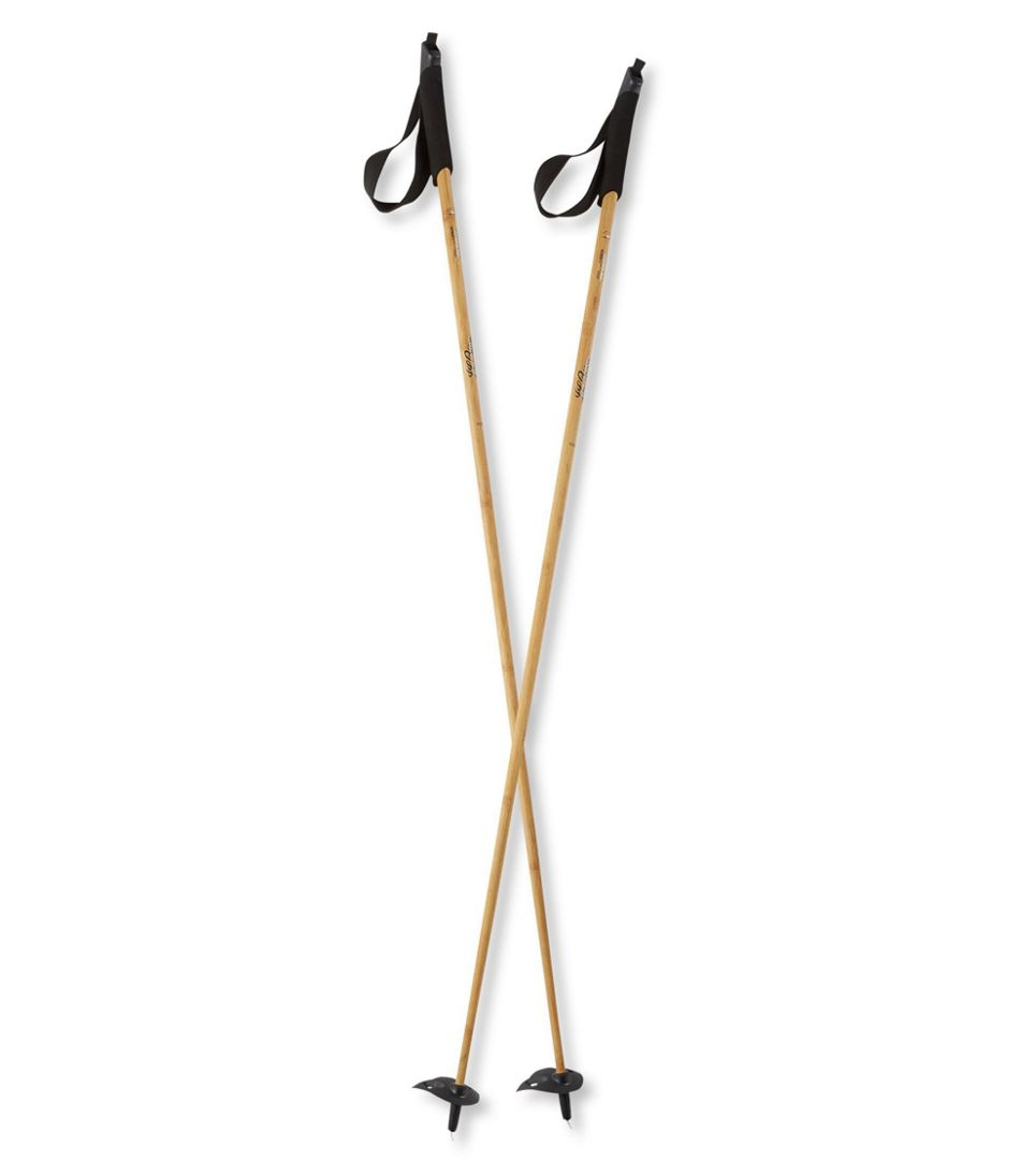 Adults' L.L.Bean Heritage Wood/Carbon Cross-Country Ski Poles