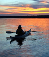 Lake Champlain Sunset Kayak Tour