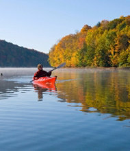 Lake Champlain Fall-Foliage Kayak Tour