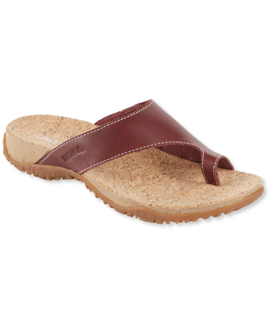 Women's Cork Flip-Flop Toe Sandals