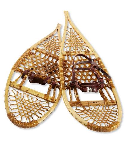 L L Bean Heritage Wooden Snowshoes