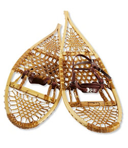 Adults' L.L.Bean Heritage Wooden Snowshoes