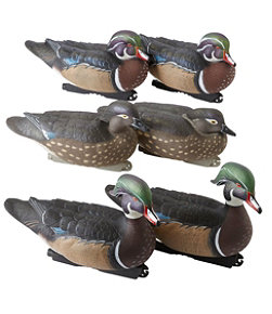 Avery Pro-Grade Decoys, Wood Duck 6-Pack