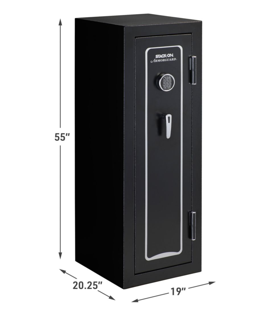 Stack-On Armorguard Electronic Gun Safe, 18 Gun