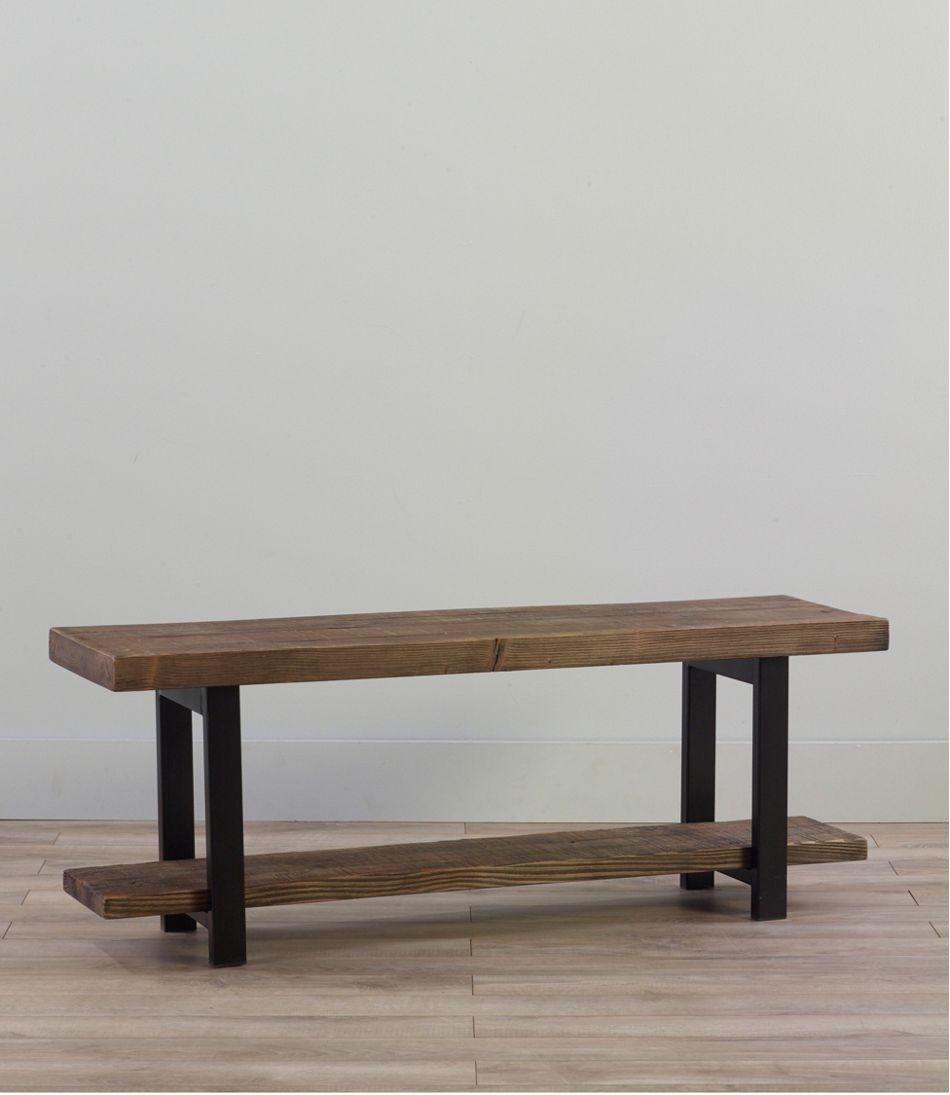 Rough Pine Bench