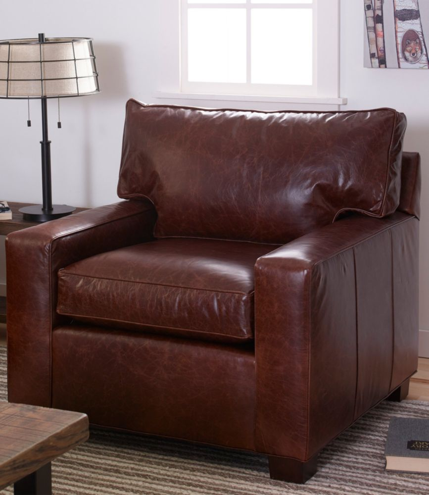 Delicieux Portland Leather Chair