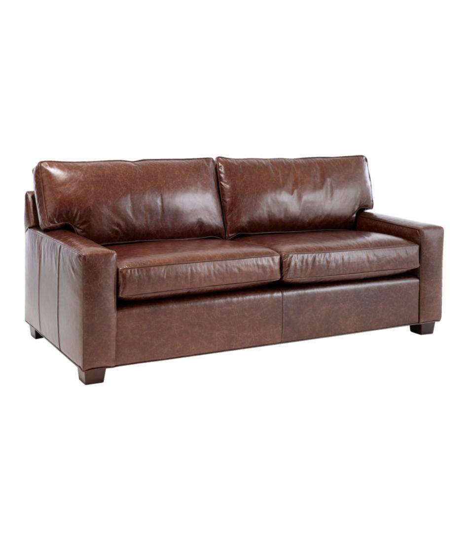 Portland Leather Sofa