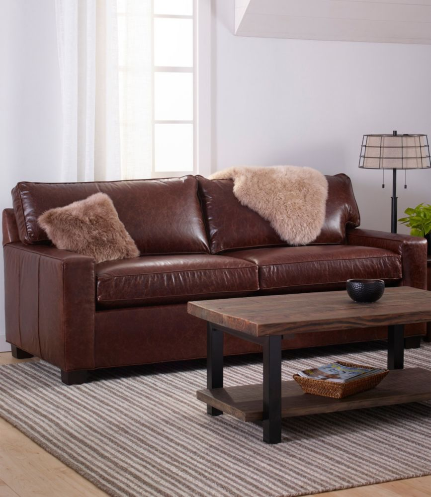 Bon Portland Leather Sofa