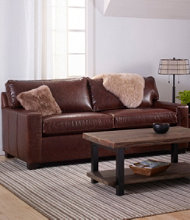 Portland Leather Sofa