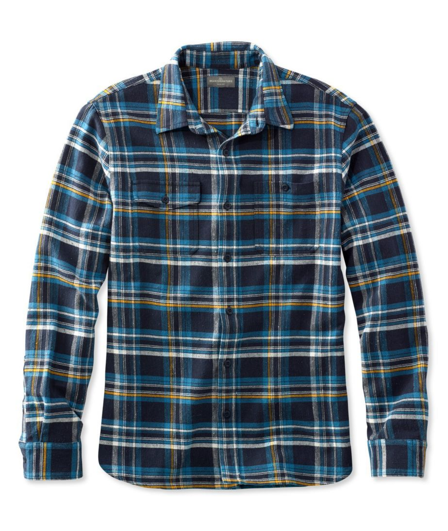 Signature Twill Plaid Shirt