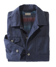 Signature Flannel-Lined Chore Jacket, Herringbone
