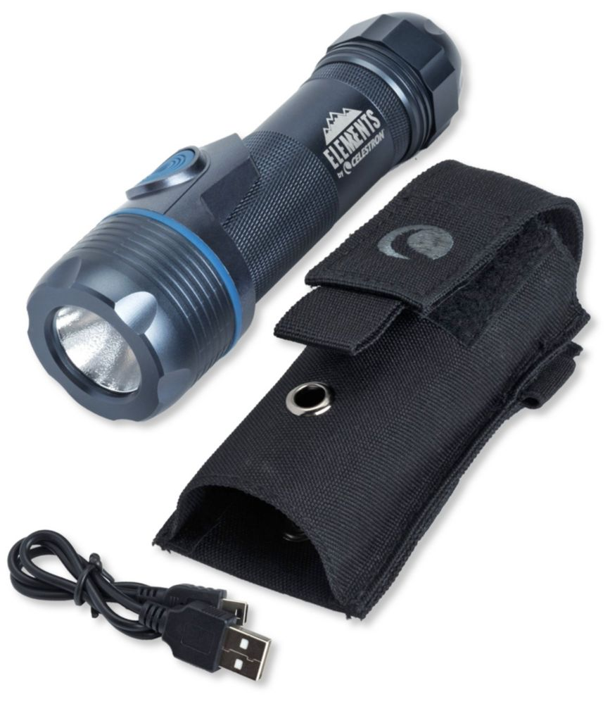 photo of a Celestron flashlight