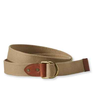 Signature D-Ring Webbed Belt