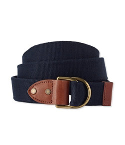 Men's Signature D-Ring Webbed Belt