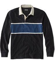 Signature Lightweight Slub Rugby, Stripe