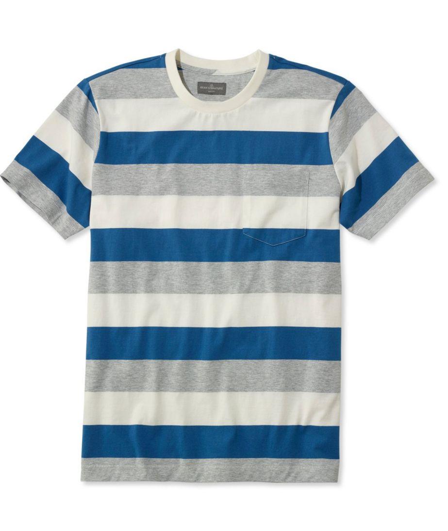 Signature Short-Sleeve Tee, Stripe