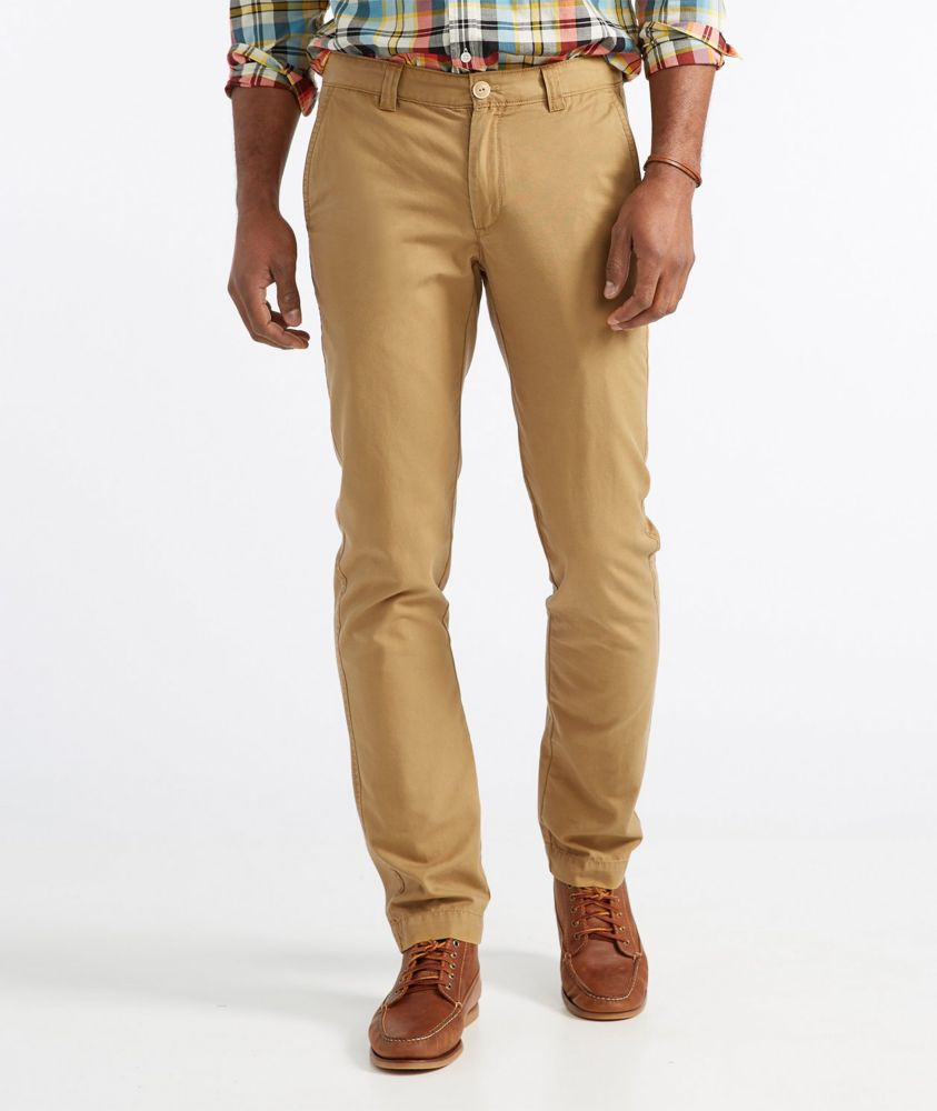 L.L. Bean Signature Washed Canvas Cloth Pants