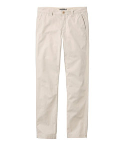 Men's Signature Washed Canvas Cloth Pants, Slim Straight